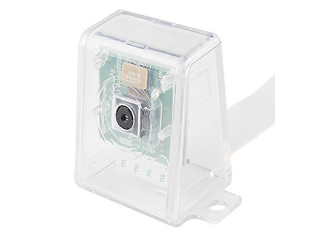 SB Camera Case for Raspberry Pi Camera V1 and V2 - Clear Transparent