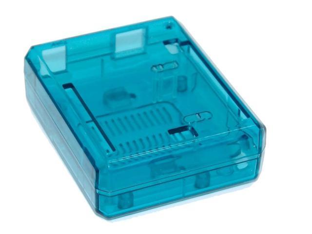 SB Uno R3 Case Enclosure Transparent - Blue