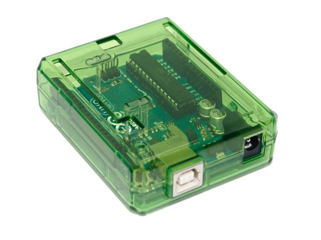 Arduino YUN Case Transparent - Green