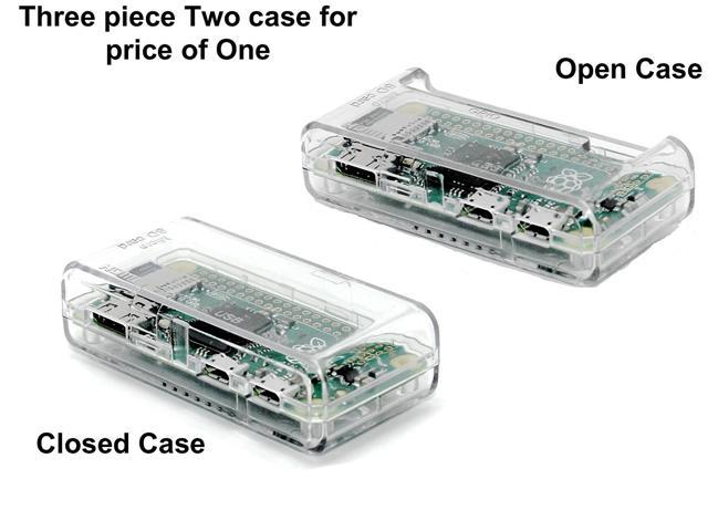 "Raspberry Pi Zero Case ""ACCESS to all Ports"" (Clear)"