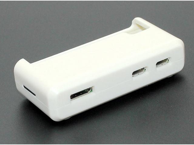 """Raspberry Pi Zero Case """"ACCESS to all Ports"""" - White"""