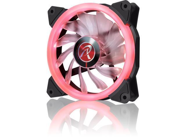 RAIJINTEK IRIS 12 RED, 12025 LED PWM fan