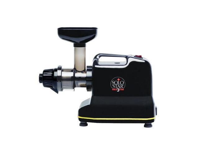 Tribest - Solostar 3 Convertible Single Auger Horizontal Juicer -Black