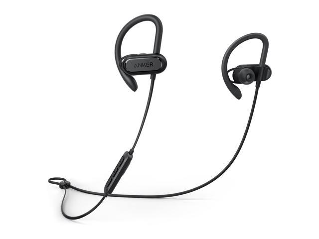 Refurbished: Anker Wireless Headphones, Soundcore Spirit X Bluetooth Sports Headsets w/Mic, Bluetooth 5.0, 12-Hour Battery, Noise Isolation, IPX7 Wireless Earbuds, SweatGuard Technology for Gym Running Workout