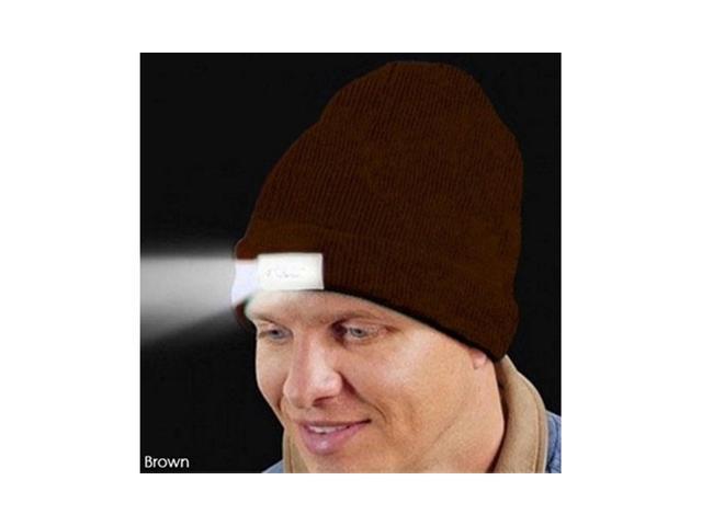 LED Light Knit Beanie Hat