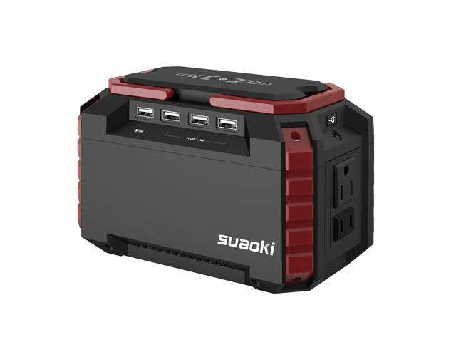 Suaoki S270 Power Source 150Wh Portable Charging Station with AC/DC/USB Outputs