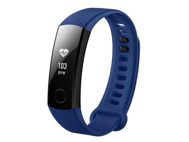 HUAWEI Honor Band 3 Smartband Heart Rate Monitor Calories Consumption Pedometer NFC, Blue