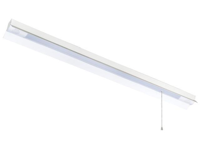 4ft LED Shop Light with Bluetooth Technology. 12W Speakers, 3600 Lumens of Light, 4000K, Hanging Fixture with standard 120V Plug