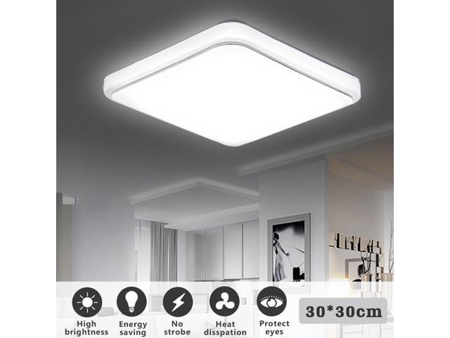 Holmark 24w led square ceiling down light 1000lm flush mount home holmark 24w led square ceiling down light 1000lm flush mount home fixture lamp aloadofball Image collections
