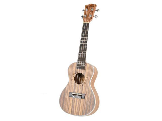 "Superior 23"" Exquisite Hawaiian Wood Concert Ukulele Musical Instrument Guitar"
