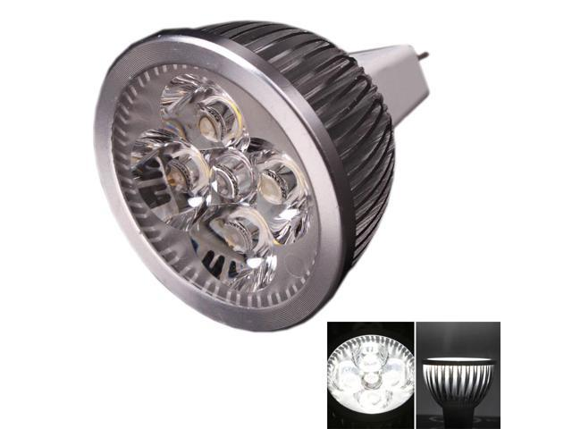 10Pcs New 4W DC12V MR16/GU5.3-LED Spot Light Bulb Lamp Cool White Spotlight