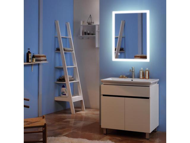 24 X 32 Led Mirror Bathroom Wall Mount Vanity Defogger Touch Light Neweggflash