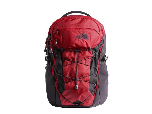 d5ac521c6172 The North Face Borealis Rage Red Ripstop Asphalt Grey Backpack A3KV3-5XB  OneSize