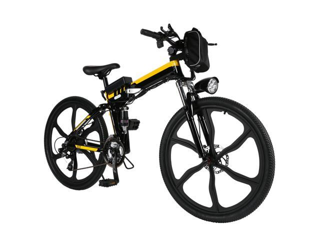 ANCHEER electric mountain bike with Removable lithium-ion battery,26 ...