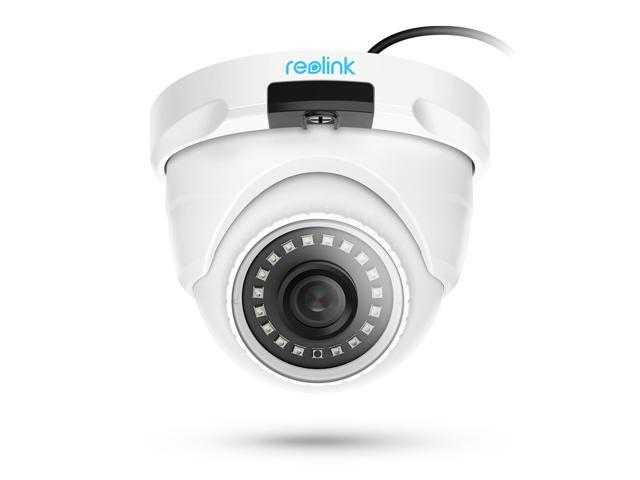 Reolink PoE Security Camera 5MP Support 100ft Night Vision, Motion Detection, Local Storage, Audio, 24/7 Recording RLC-420-5MP