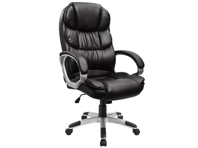 furmax high back office chair pu leather executive desk chair with
