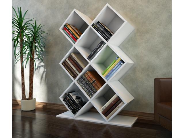Decorotika Beach 50 Cube Bookcase Cubic Organizer Storage Shelves