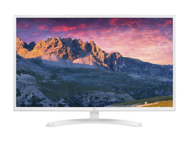 "LG 32MP58HQ-W White 31.5"" FHD IPS Widescreen LED Backlight Monitor 5ms 1920 x 1080 at 60 Hz, On Screen Control w/ Screen Split, HDMI/D-Sub 250 cd/m2 1000:1"