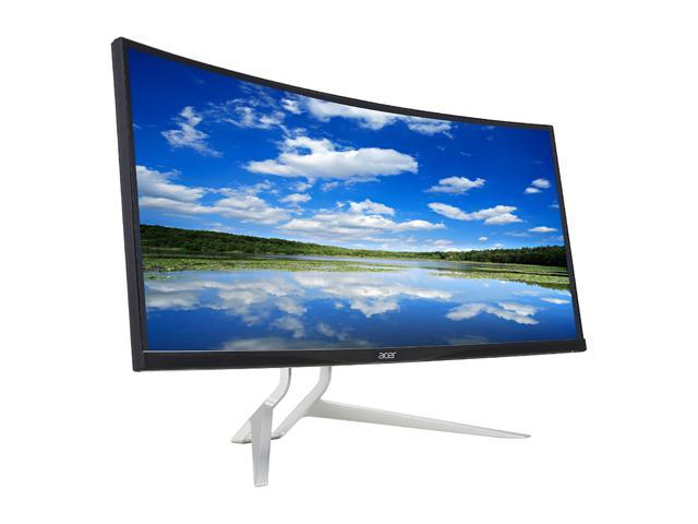 "Refurbished: Acer Certified XR342CK bmijpphz 34"" UltraWide Curved Gaming Monitor QHD 3440 x 1440 UM.CX2AA.001 1,000:1"