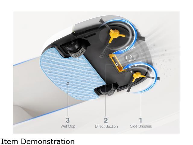 ECOVACS Deebot SLIM Robotic Vacuum Cleaner DA60
