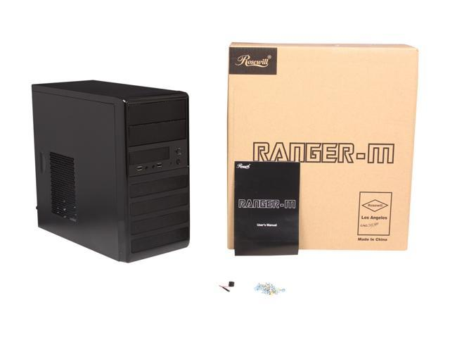 Rosewill - Dual-Fan Micro ATX Mini Tower Computer Case - RANGER-M