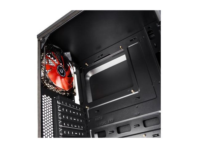 BitFenix Nova TG Black ATX/mATX/Mini ITX Midi Tower Case - Tempered Glass Window BFX-NTG-100-KKWSK-RP
