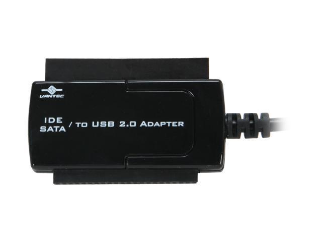 "Vantec 2.5"" / 3.5"" / 5.25"" SATA / IDE to USB 2.0 Adapter - Model CB-ISATAU2"