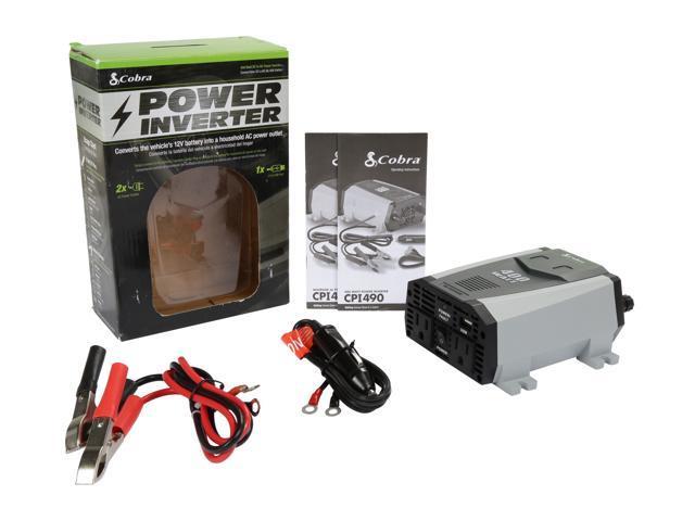 Refurbished: Cobra CPI 490 Power Inverter