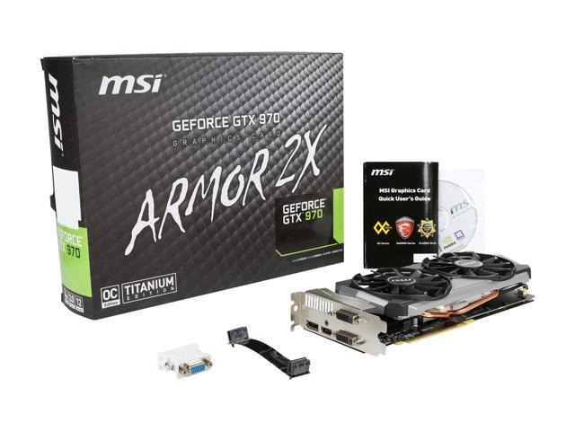 Refurbished Msi Geforce Gtx 970 Directx 12 Gtx 970 4gd5t Oc