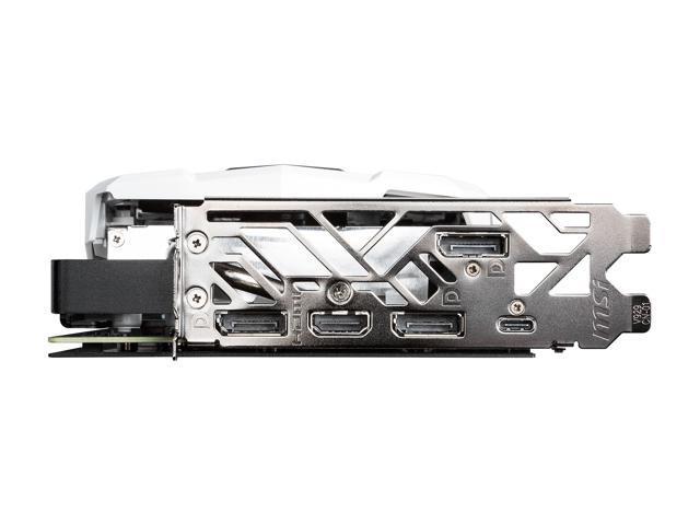 MSI GeForce RTX 2070 DirectX 12 RTX 2070 ARMOR 8G OC 8GB 256-Bit GDDR6 PCI Express 3.0 x16 HDCP Ready Video Card