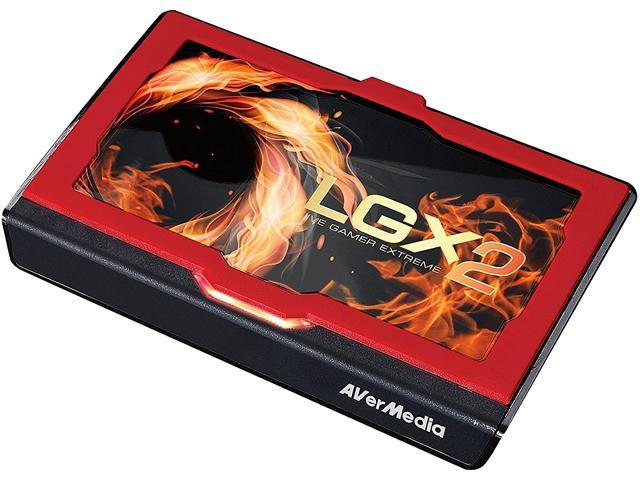 AVerMedia Live Gamer Extreme 2, USB 3.0 Game Streaming and Video Capture, 4K Pass-Through, Full HD 1080p 60fps, Ultra Low Latency (GC551)