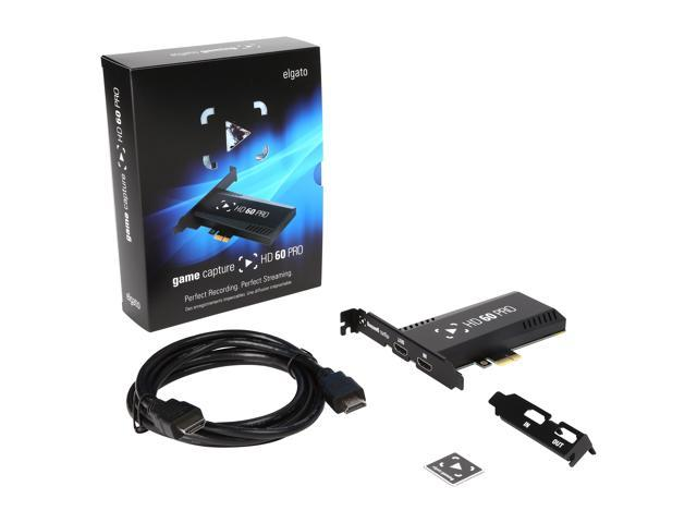 Elgato Game Capture HD60 Pro PCIe Capture Card, Stream and Record in 1080p 60 FPS