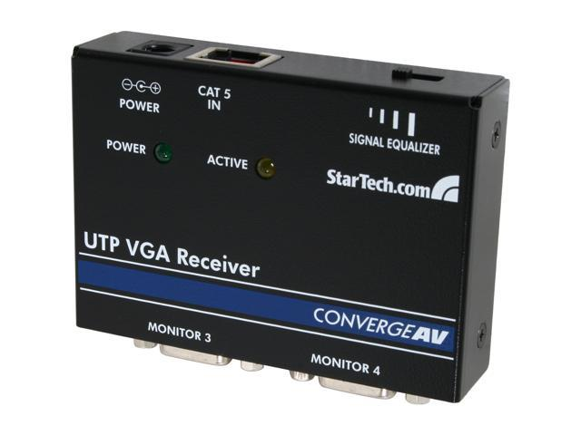 StarTech.com VGA over CAT 5 Remote Receiver ST121R for Video Extender