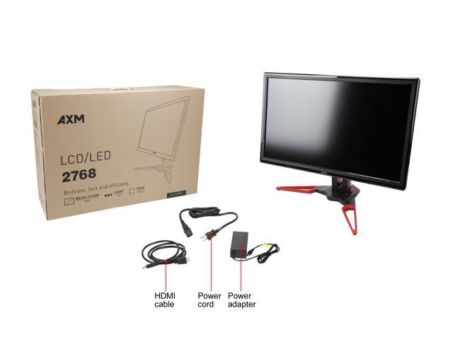"AXM 2768 27""  2K, 2560 x 1440 WQHD  Adaptive-sync (Free Sync compatible) IPS LED Gaming Monitor, Height/Tilt Adjustable."
