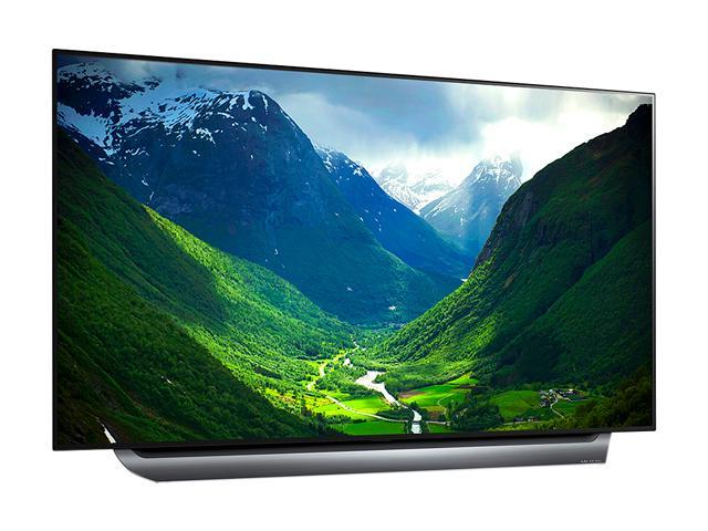 """Refurbished: LG C8 OLED55C8PUA 55"""" OLED 4K HDR Dolby Atmos Smart TV with AI ThinQ (2018)"""