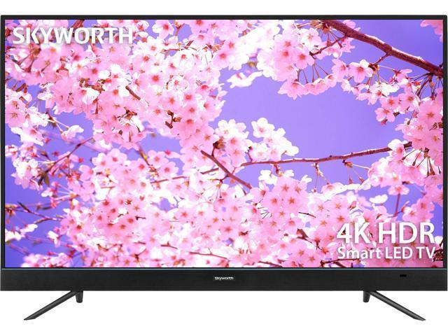 "Skyworth 49U5A 49"" 4K Ultra HD HDR Android 7.0 Google Cast LED TV"