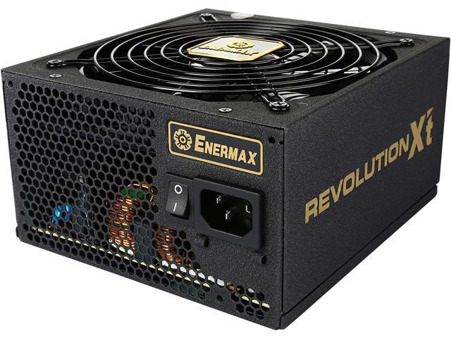 ENERMAX Revolution X'T II 750W ERX750AWT ATX12V / EPS12V SLI Ready CrossFire Ready 80+ GOLD Certified Semi-Modular Twister Bearing Fan Active PFC Power Supply