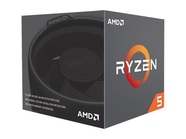 AMD RYZEN 5 2600 6-Core 3.4 GHz (3.9 GHz Max Boost) Socket AM4 65W YD2600BBAFBOX Desktop Processor