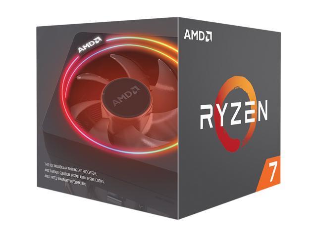 AMD RYZEN 7 2700X 8-Core 3.7 GHz (4.3 GHz Max Boost) Socket AM4 105W YD270XBGAFBOX Desktop Processor