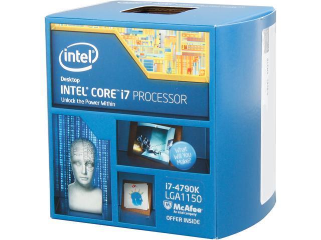 Intel Core i7-4790K Devil's Canyon Quad-Core 4.0 GHz LGA 1150 88W BX80646I74790K Desktop Processor Intel HD Graphics 4600