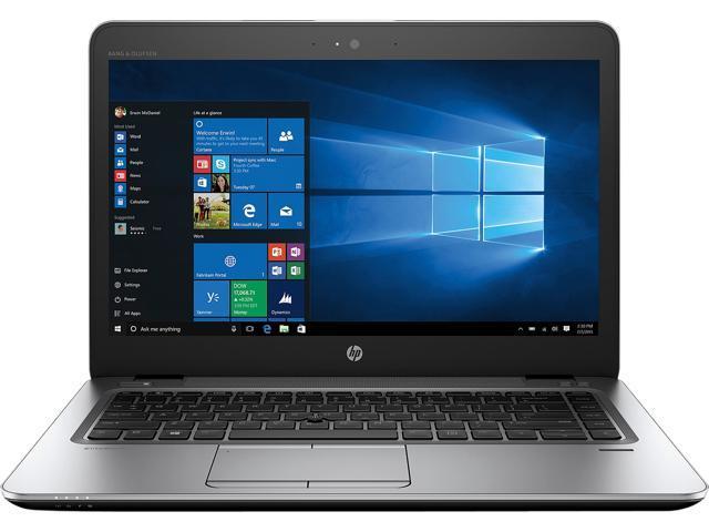 "HP Laptop EliteBook 840 G4 (1GE40UT#ABA) Intel Core i5 7th Gen 7200U (2.50 GHz) 8 GB Memory 256 GB PCIe NVMe SSD Intel HD Graphics 620 14.0"" Windows 10 Pro 64-Bit"