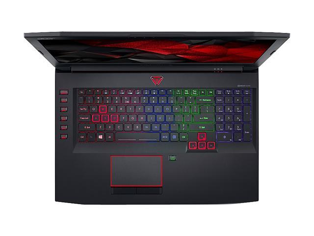 "Refurbished: Acer Predator G9-793-78WG 17.3"" 4K/UHD Intel Core i7 7th Gen 7700HQ (2.80 GHz) NVIDIA GeForce GTX 1070 64 GB Memory 512 GB SSD 2 TB HDD Windows 10 Home 64-Bit Gaming Laptop (Manufacturer Recertified)"