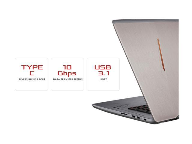"ASUS ROG Strix GL702VS-AH73 17.3"" Full HD 75 Hz Ultra Thin and Light Gaming Laptop, G-SYNC Display, GeForce GTX 1070 8 GB, Intel i7-7700HQ 2.8 GHz, 12 GB DDR4 RAM, 128 GB SSD + 1 TB 7200 RPM HDD Windows 10 Home"