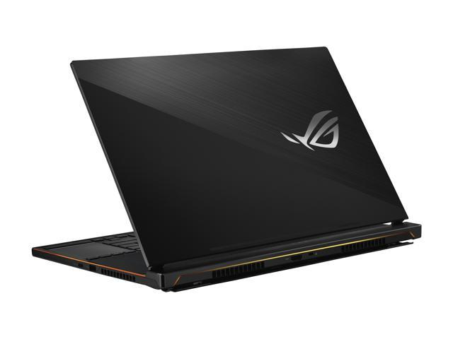 """ASUS ROG Zephyrus S Ultra Slim Gaming PC Laptop, 15.6"""" 144 Hz IPS Type, Intel Core i7-8750H CPU, GeForce GTX 1070, 16 GB DDR4, 512 GB PCIe SSD, Military-Grade Metal Chassis, Windows 10 Home - GX531GS-AH76"""