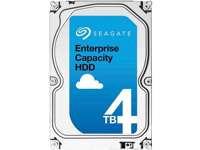 Seagate Enterprise Capacity 3.5'' HDD 4TB 7200 RPM 512n SATA 6Gb/s 128MB Cache Internal Hard Drive ST4000NM0035