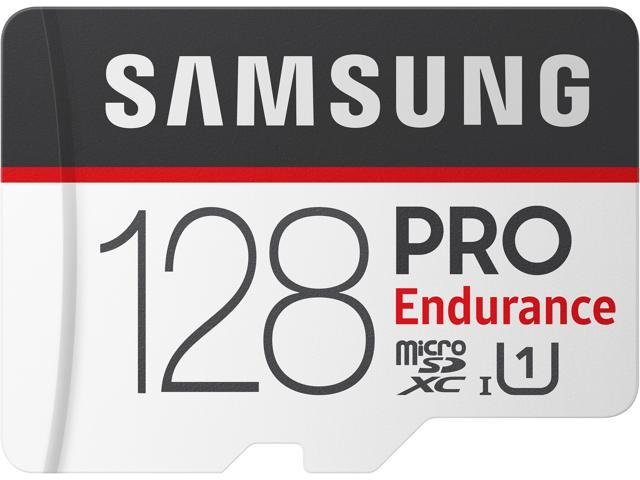 SAMSUNG 128GB PRO Endurance microSDXC UHS-I/U1 Memory Card with Adapter, Speed Up to 100MB/s (MB-MJ128GA/AM)