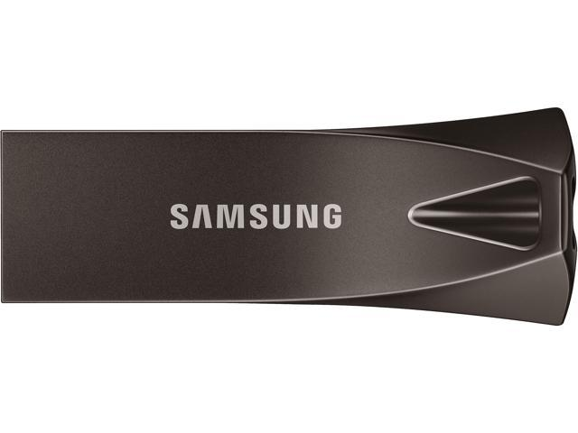 SAMSUNG 256GB BAR Plus (Metal) USB 3.1 Flash Drive, Speed Up to 300MB/s (MUF-256BE4/AM)