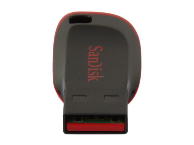 Refurbished: SanDisk 16GB Cruzer Blade CZ50 USB 2.0 Flash Drive SDCZ50-016G-B35, Like New Open Box