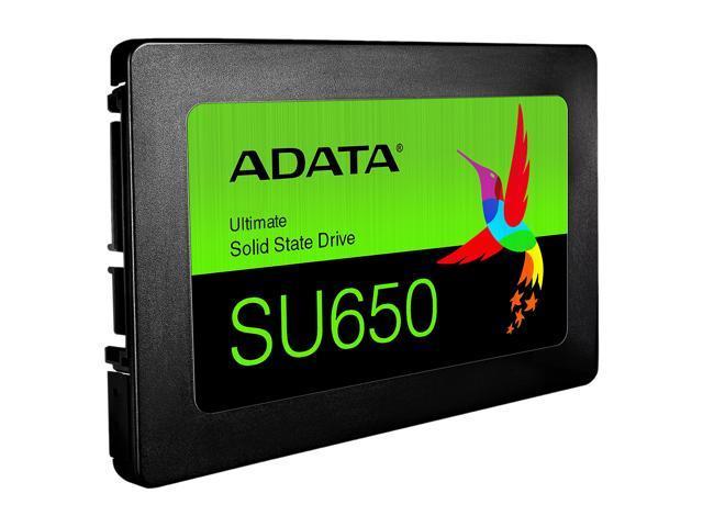 "ADATA Ultimate SU650 2.5"" 960GB SATA III 3D NAND Internal Solid State Drive (SSD) ASU650SS-960GT-R"