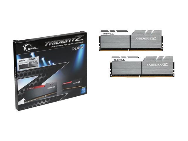G.SKILL TridentZ Series 16GB (2 x 8GB) 288-Pin DDR4 SDRAM DDR4 3200 (PC4 25600) Intel Z170 Platform Desktop Memory Model F4-3200C16D-16GTZSW